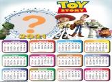Calendário 2021 Toy Story Foto Colagem