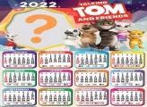 Calendário 2022 Talking Tom e Amigos Online