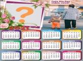 Calendário 2021 Vovó Feliz Dia das Mães Montagem