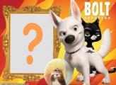 Bolt o Super Cão Moldura para Foto