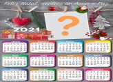 Mensagem de Natal Foto Calendário 2021