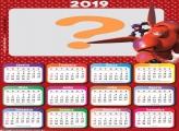 Calendário 2019 Big Hero