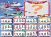 Calendário 2022 Online Aviões Disney