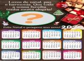 Calendário 2020 Luzes de Natal Paz e Harmonia