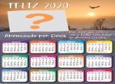 Calendário 2020 Abençoado por DEUS
