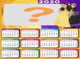 Calendário 2020 Cúmplices de um Resgate