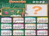 Molduras para Fotos Grátis Calendário 2022 Escola