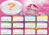 Colagem de Foto Calendário 2020 Ariel Princesa