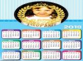 Calendário 2018 Realeza Menino Azul