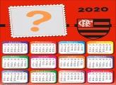 Moldura Digital Calendário 2020 Flamengo Escudo