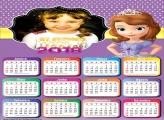 Calendário 2018 Princesa Sofia