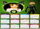 Calendário 2018 Cat Noir