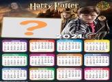 Calendário 2021 Harry Potter Montar Fotos Online