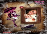 Moldura Monster High Boneca