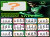 Calendário 2022 Lanterna Verde Criar Online
