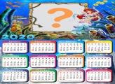Calendário 2020 Online da Princesa Ariel