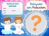 Convite Virtual Batizado aos Padrinhos