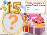 Convite 15 Anos