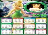 Calendário 2018 da Sininho Tinker Bell