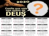 Calendário 2020 Confie sua Vida nas Mãos de Deus