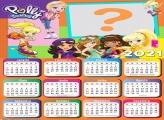 Calendário 2021 Polly Pocket Bonecas