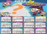 Calendário 2022 Os Padrinhos Mágicos com Foto