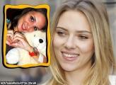 Moldura Scarlett Johansson