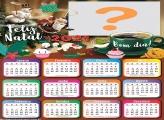 Calendário 2021 Personalizado Feliz Natal