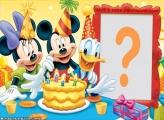Moldura Festa de Aniversário Mickey