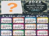 Calendário 2022 Pai Guerreiro Mensagem Online