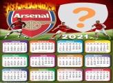 Calendário 2021 Arsenal