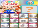 Calendário 2022 para Crianças Super Jojo