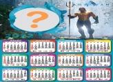 Montagem de Calendário 2022 Aquaman Online