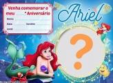 Convite Ariel