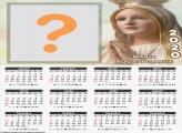 Calendário 2020 Maria Rogai por Nós Moldura