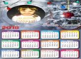 Calendário 2018 Luzes de Natal