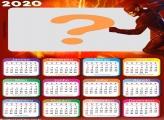 Montagem de Fotos Calendário 2020 Flash