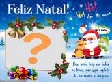 Feliz Natal e Prospero Ano Novo Moldura