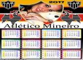 Calendário 2017 Atlético Mineiro Time de Futebol