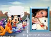 Mickey na Estrada Ano Novo
