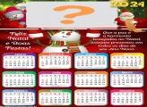 Calendário 2021 Imprimir Grátis de Feliz Natal