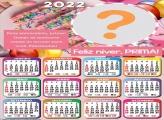 Calendário 2022 Aniversário Prima Virtual Online