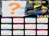 Foto Montagem Grátis Calendário 2021 Wolverine
