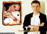 Moldura Matt Damon