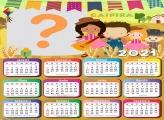 Calendário 2021 Caipira Festa Junina