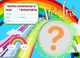 Convite Arco Íris