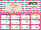Calendário 2019 Menina do Circo