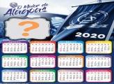 Moldura Calendário 2020 Alagoas Time