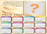 Calendário 2020 Ano Novo Gospel