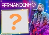 Fernandinho Cantor Gospel Moldura